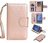 Chreey Coque Samsung Galaxy S7 Edge / SM-G9350 (5.5 pouces) ,PU Cuir Portefeuille Etui Housse Case Cover ,carte de crédit Fentes pour (9 fente) ,idéal pour protéger votre téléphone