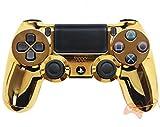 Chrom Gold PS4Rapid Fire Custom Modding Controller 35Mods Cod Advanced Warfare, Destiny, Ghosts Quick Scope Auto Run Sniper Atem und Mehr (cuh-zct2u)