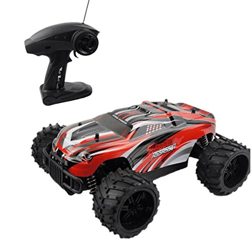 Distant Management Automobile Excessive Pace RC Vehicles Off Highway Automobile Automobile 1:16 Scale Half Proportion 27Mhz Eletric Management RC Vehicles by Crazepony-UK