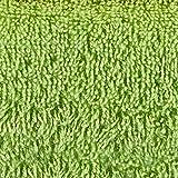 Naturawalk Handtücher Serie Milano Bio-Baumwolle in Luxusqualität, in 7 Größen und 16 Trendfarben - Grösse 6 x Gästetücher, Farbe Grün 060 Test