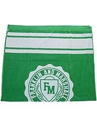 Franklin y Marshall carcasa blanda de con logotipo de verde Unisex toalla de playa