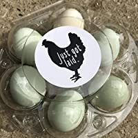 Cute Just Got Laid, Egg Carton Stickers, Hobby Farming, Duck Eggs, Chicken Eggs