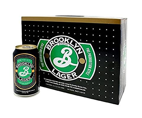 Brooklyn Lager Cans, 12 x 355 ml