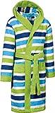 Kinderbutt Bademantel Frottier grün Größe 86