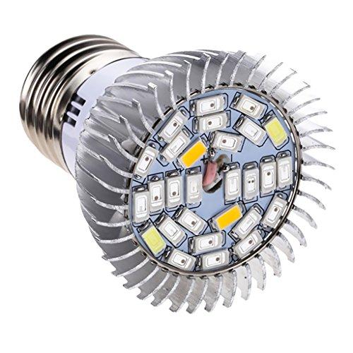 MagiDeal Vollspektrum LED Pflanzenlampe E27 Pflanzenleuchte Pflanzen Wachstumslampe