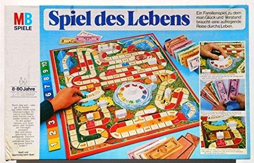 Preisvergleich Produktbild Spiel des Lebens MB - Hasbro Familienspiel - Gesellschaftsspiel - Partyspiel