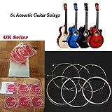 Mync–6pezzi di ricambio per chitarra classica, acustica corde per chitarra 3/4porta musicali accessori regalo set kit di ricambio