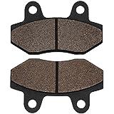Cyleto - Pastillas de freno delanteras para Hyosung GV125 Aquilla 2001-2006/GV150 RX125