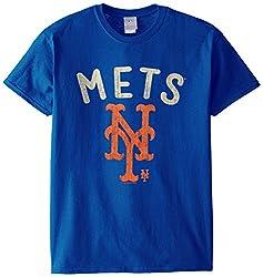 MLB New York Mets Men's 58W Tee, Royal, Large