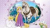 Olimpia Design Fototapete Disney Rapunzel, 1 Stück, 535P4