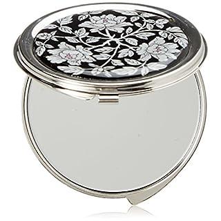 Handtaschenspiegel Rund Taschenspiegel Makeup Metall Schminkspiegel Edelstahl