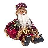 Overdose Weihnachten 2019 Deko Lustiger Brille Weihnachtsmann Puppe Festliche Tischdeko Weihnachten Zubehörteilen Christbaumschmuck