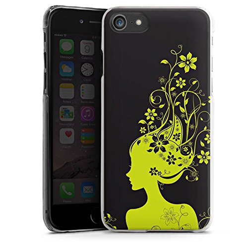 Apple iPhone X Silikon Hülle Case Schutzhülle Blüten Muster Mädchen Hard Case transparent