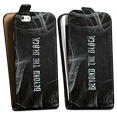 Apple iPhone 5s Silikon Hülle Case Schutzhülle beyond the black fanartikel merchandise Downflip Tasche schwarz