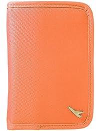 XCSOURCE Portefeuille Multifonction Poche De Passeport Crédit Id Voyage Sac Porte-Monnaie Court Organisateur (Orange) MT263