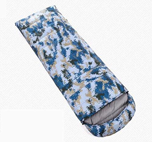 RJ YXX Schlafsack Tragbar Warm bleiben Umschlag Daunenschlafsack Im Freien Camping Winddicht Wasserdicht Anti-kalt, Kaschmir Inhalt 1500 Gramm -