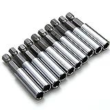 XCSOURCE 10 Stk magnetische Erweiterung Sockel Bohrer Halter 1/4