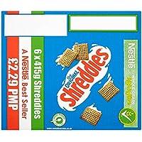 Nestlé El Shreddies original 6 x 415g (paquete de 6 x 415g)
