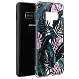 Pnakqil Coque Samsung Galaxy S6 Edge, Etui en Silicone 3D Transparente avec Motif...