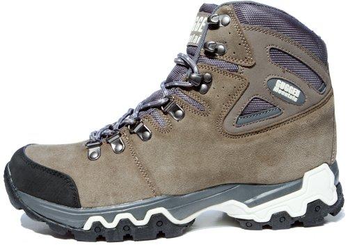 GUGGEN Mountain Bergschuhe Bergstiefel Wanderschuhe Wanderstiefel Mountain Boots Trekkingschuhe Unisex M008 Braun
