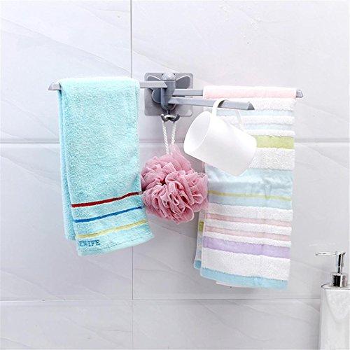 Küchenhandtuch hängen Rack Küche Tuch hängen Halter Veranstalter Schrank Schrank Reinigung Lappen Kleiderbügel Bad Tür Upxiang Handtuchhalter Rack (Weiß) (Trockene Tücher Rack)