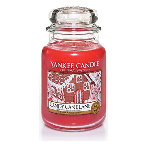 Yankee Candle Candy Cane Lane Jar Candle - Large