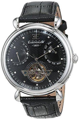 Thomas Earnshaw ES-8046-01 - Reloj para hombres, correa de cuero