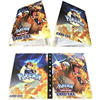 Álbum Titular de Tarjetas Pokémon Carpeta Carpeta Libro 30 páginas 240 Tarjetas Capacidad (Charizard)