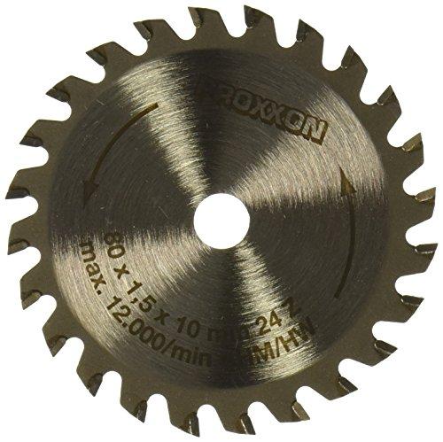 PROXXON 28734 Kreissägeblatt hartmetall bestückt 24 Zähne 80mm Durchmesser