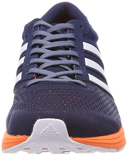 adidas Herren Adizero Boston 6 Laufschuhe Mehrfarbig (Collegiate Navy/footwear White/hi-reset Orange 0)