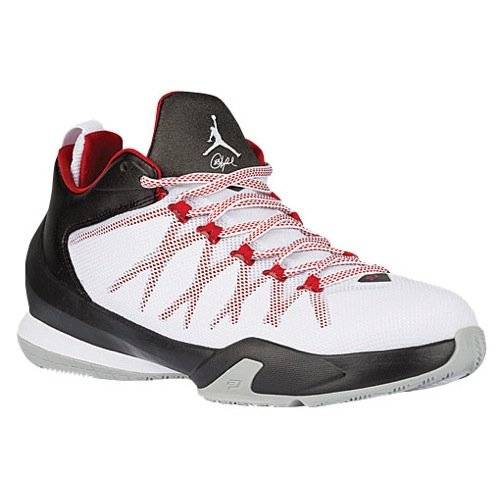 Nike CP3. Viii Ae Mens bianco / nero / rosso palestra tennis atletiche