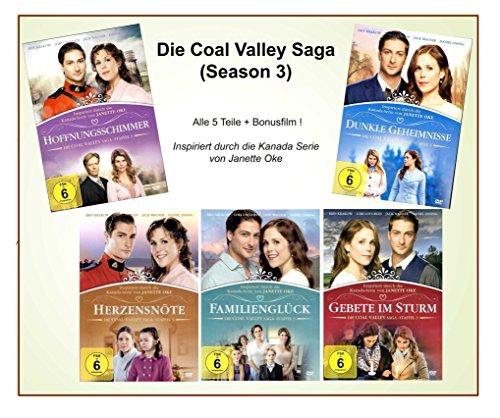 Preisvergleich Produktbild Die Coal Valley Saga (Season 3) (Alle 5 Teile der Staffel 3 + Bonusfilm) [ Janette Oke ] [6 DVDs]