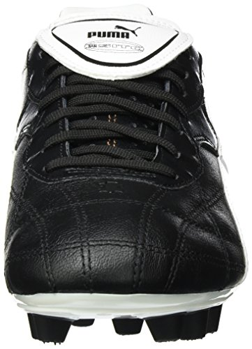 Puma  Esito Classico FG, Chaussures de Football Entrainement homme Noir(Black/White/Bronze)
