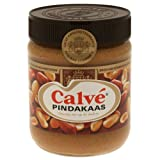 Calvé Pindakaas Erdnussbutter Brotaufstrich, Peanut, Erdnusscreme, Glas, 350g