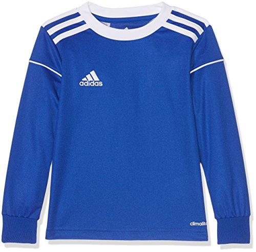 Adidas Long Sleeve Logo T-shirt (adidas Herren Squad 17 JSY LS Long Sleeved T-Shirt, Bold Blue/White, 1112Y)