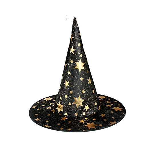 Halloween Hut Fancy Kleid Hexe Cap Bar cosplay Dress Up Requisiten Magic Hat ( Farbe : Schwarz )