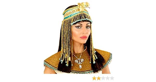 NET TOYS Copricapo di Cleopatra con Serpente  283bff93c992