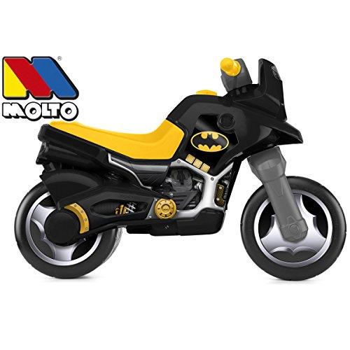 Rutsch Motorrad XXL im Batman Design mit breiten Reifen, dient als Lauflernhilfe für die Kleinen, 73 cm, für Innen und Außen, Lauflernrad Rutschfahrzeug fürs Gleichgewicht, XL Bike, ab 3 Jahren - 3