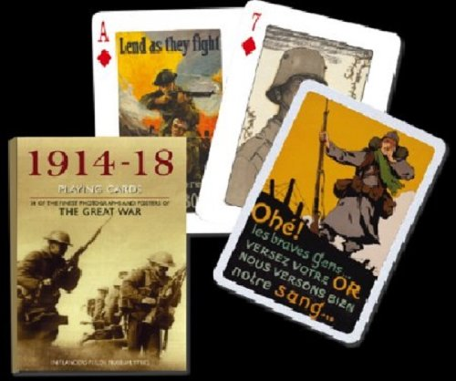 PINNACLE PEAK The Great War World War I Spielkarten-Deck
