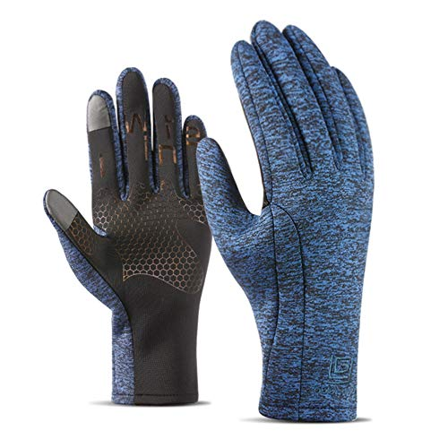 Hetto guanti ciclismo guanti impermeabili termici invernali touchscreen per smartphone windproof impermeabile per moto palestra bici ciclismo alpinismo camping e outdoor adatti