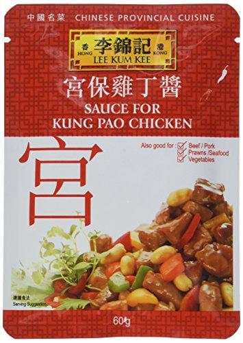 Lee Kum Kee Sauce für chinesisches Huhngericht Kung Pao, 6er Pack (6 x 60 g)