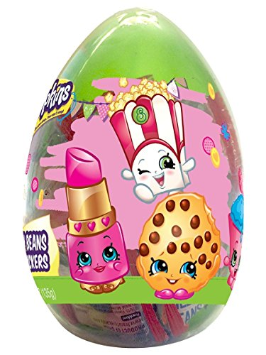 Shopkins Giant Easter Egg with Jelly Beans and Stickers, 4.23 oz