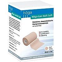 Höga Pharm Lan-Haft Soft kohäsive, hautfarben 10cm x 5m, dauerelastische Kompressionsbinde mit kurzen Zug, atmungsaktiv... preisvergleich bei billige-tabletten.eu