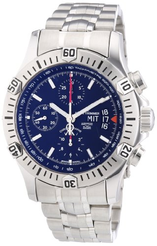 Revue Thommen Men's Watch XL Pioneer XLarge Chronograph Automatic Stainless Steel 16071.6132