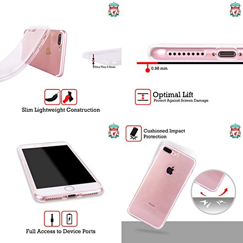 Personalizzata Personale Liverpool Football Club Gol Liverpool FC Cover Morbida In Gel Per Apple iPhone X We Are Liverpool