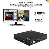Mini PC Windows-KODLIX Z83-V Desktop PC Win10/4K mit Intel Atom CPU 1,92 GHz, 2M Cache, DDR3 2GB / 32GB, 1000Mbps LAN,USB 3.0, 2*USB 2.0, SD, 2.4G/5.8G WiFi, Bluetooth...