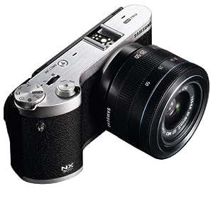 Samsung NX300 20.3MP CMOS Smart WiFi MIrrorless Digital Camera with 20-50mm Lens (Black)