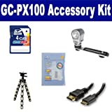JVC GC-PX100 Camcorder Accessory Kit includes: KSD4GB Memory Card