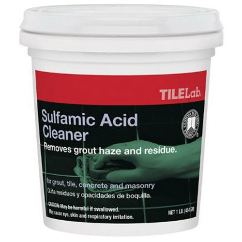 Sulfamic Acid Cleaner (Custom Building Products TLSAC1 Sulfamic Acid Cleaner, 1-Pound by Custom Building Products)