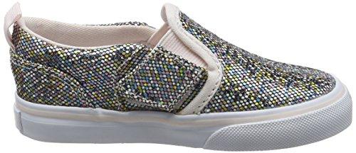 Vans Td Asher V Z, Scarpe Primi Passi Bimba Multicolore (Glitter)